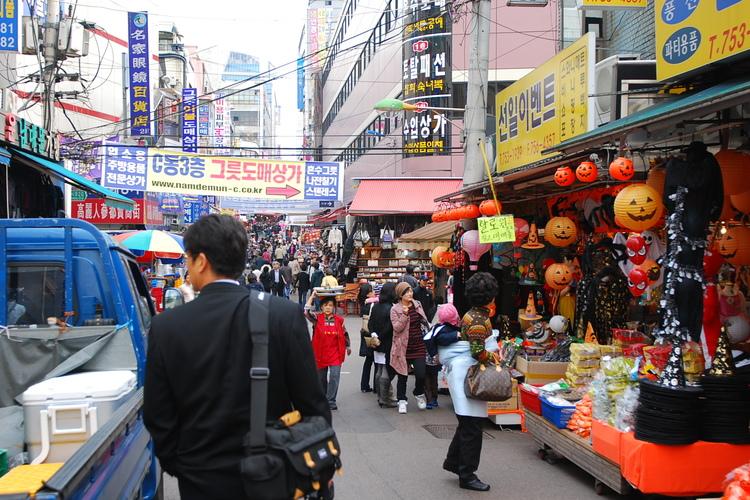 ソウル市内観光ツアー 絶品の韓国グルメ3...の写真