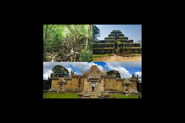 【シェムリアップ】プレアヴィヒア寺院 +...の写真