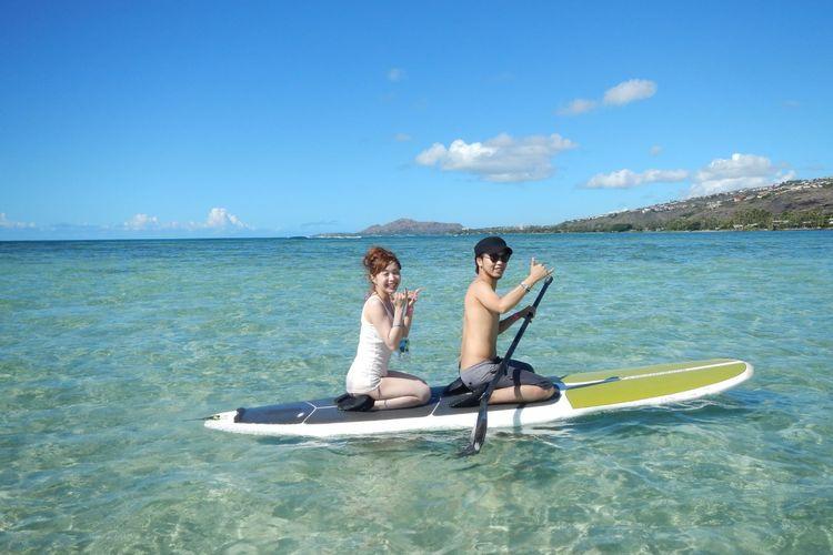 ハワイカイのパラダイスサンドバーへ スタ...の写真