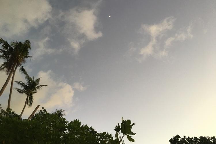 サンセットが作る最高の絶景 + 輝く星空...の写真