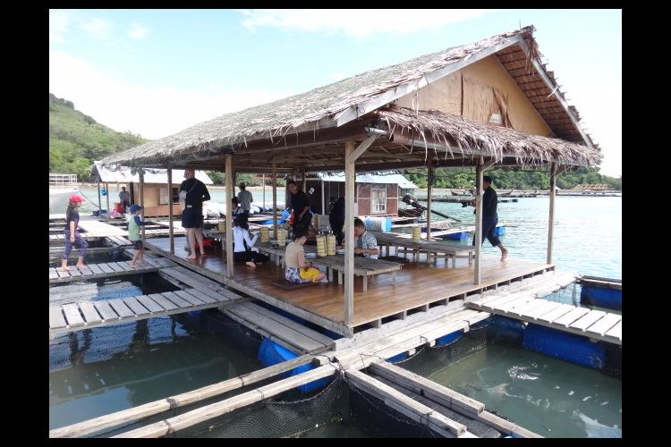 スピードボートで行く ホン島 (クラビ)...の写真