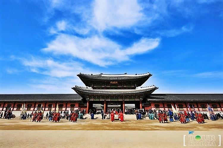 満喫 格安でソウル市内観光ができる 景福...の写真