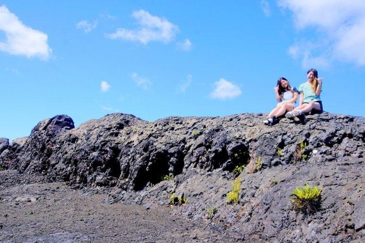 【オアフ島発着】雄大なキラウエア火山の立...の写真