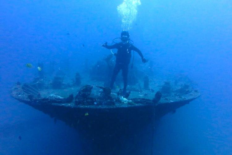 ハワイ 体験ダイビングを日本人ガイドがご...の写真
