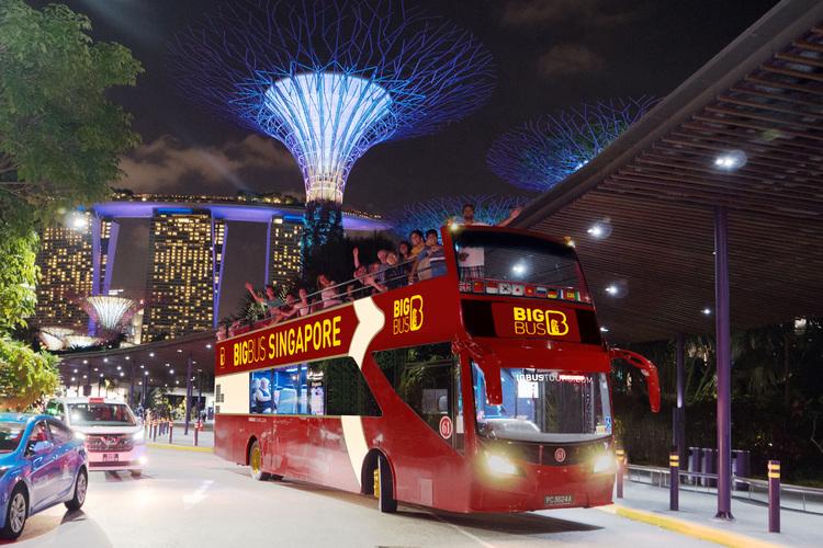 キラキラ夜景バス by JTBマイバスの写真