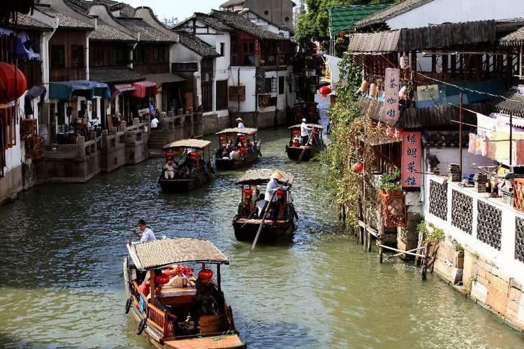 のんびり上海近郊半日観光[水郷・朱家角]の写真