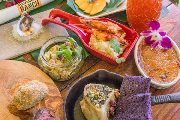 クアロア産食材のコース料理を堪能 ファー...の写真