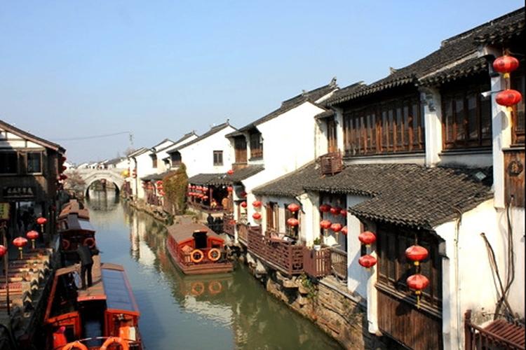 蘇州一日観光の写真