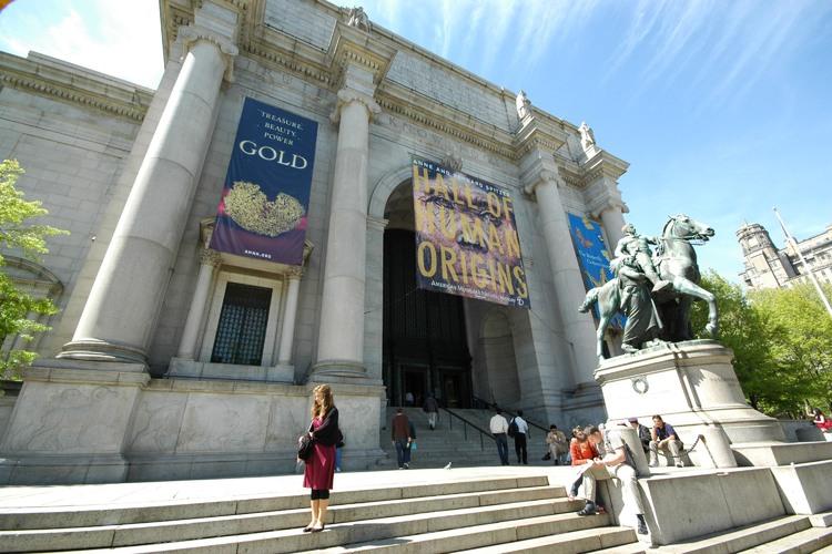 家族で行こう アメリカ自然史博物館ツアーの写真