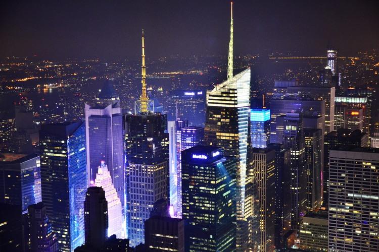 エンパイアステートビルチケット付き 夜景...の写真