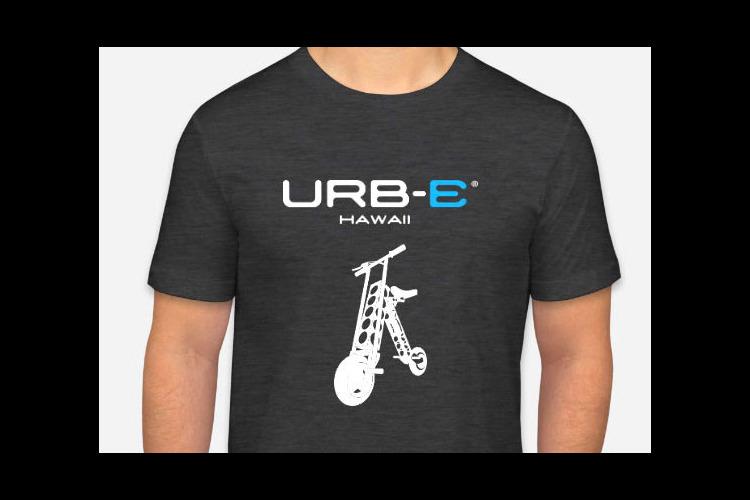 電動二輪車アービー(URB-E)でワイキ...の写真