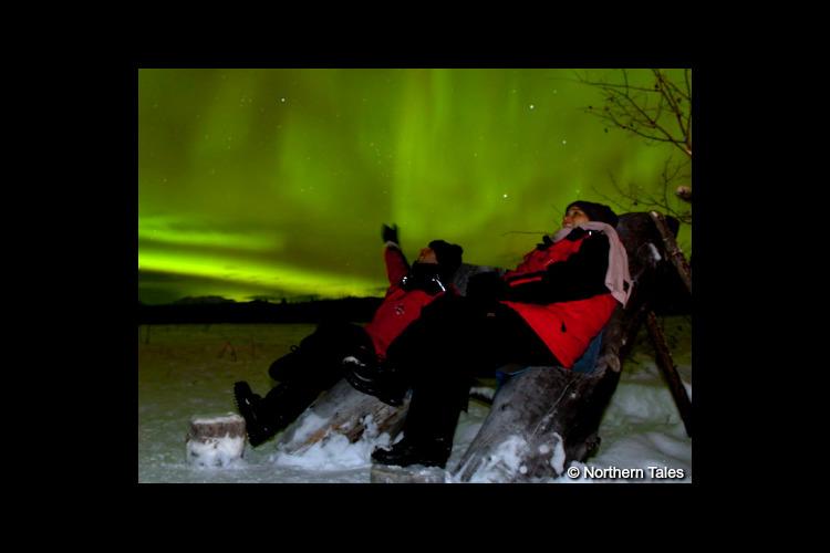 冬オーロラ(11月〜4月)[航空券+防寒...の写真