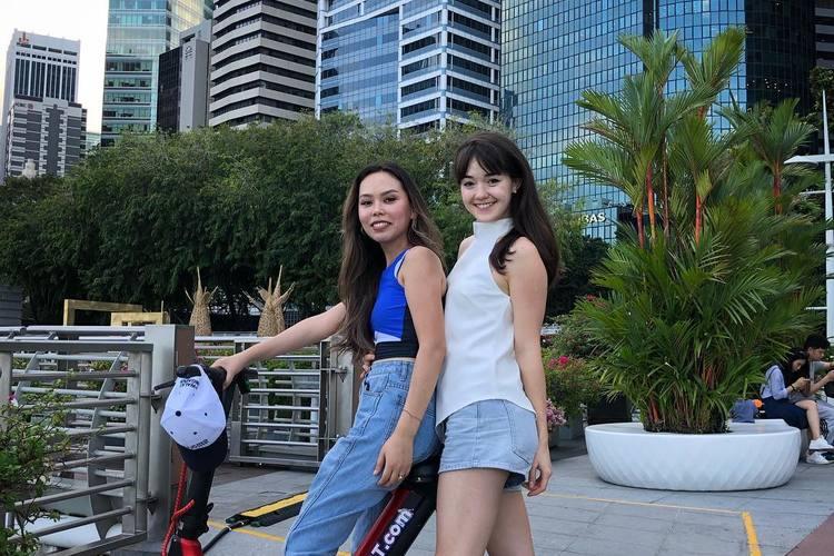 シンガポールウォーキング:都市の景観 -...の写真