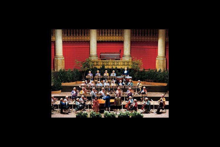 モーツァルトコンサートチケットの写真