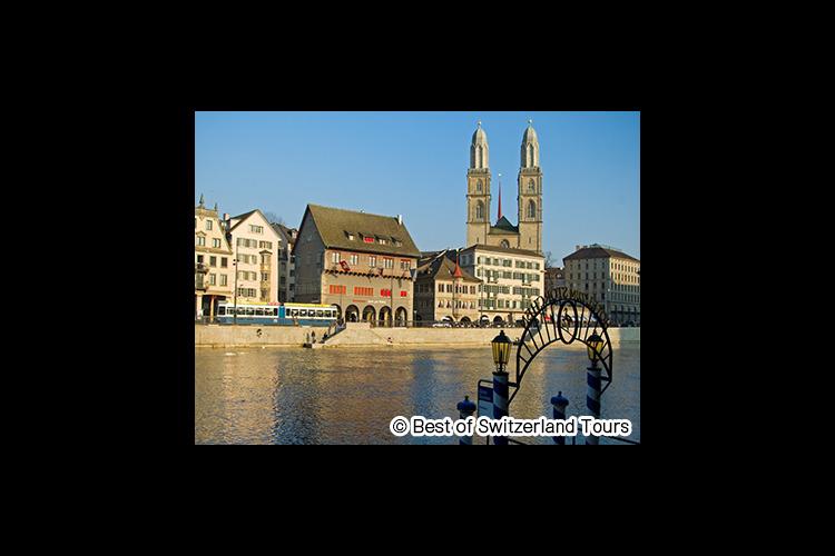 チューリッヒ半日市内観光の写真