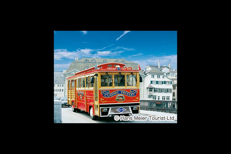 トロリーで巡るチューリッヒ市内観光とユト...の写真