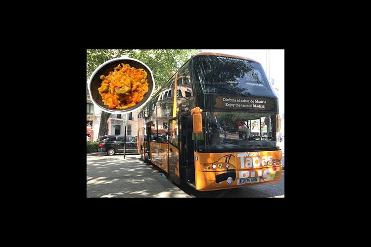 タパスを食べながらマドリッド市内観光「タ...の写真