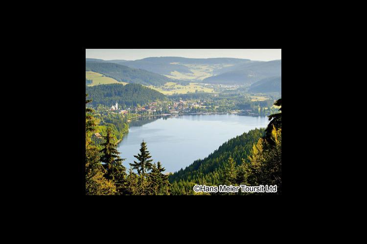 黒い森ティティゼーとラインの滝1日観光の写真