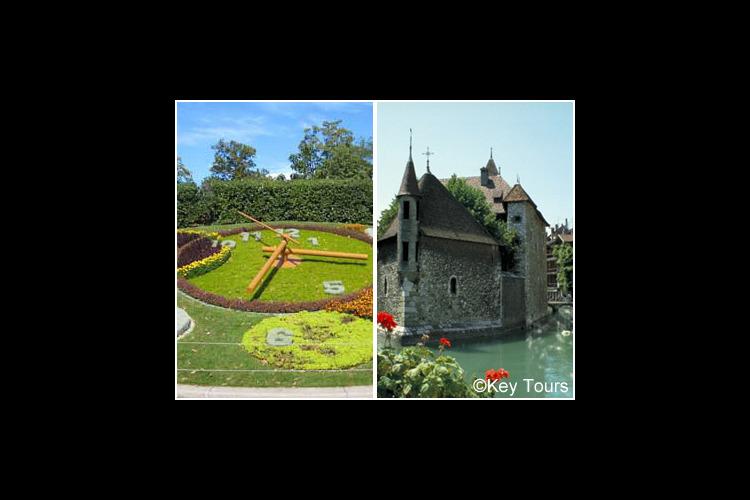ジュネーブ市内とアヌシー1日観光の写真