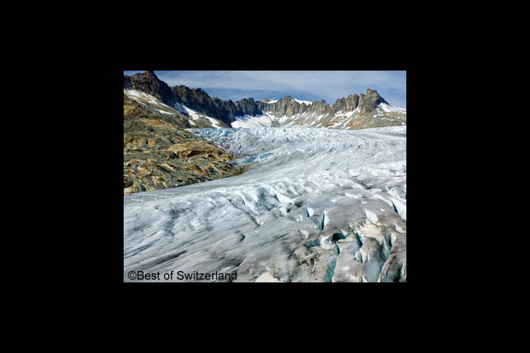 氷河と渓谷を巡る~中央アルプス1日観光の写真