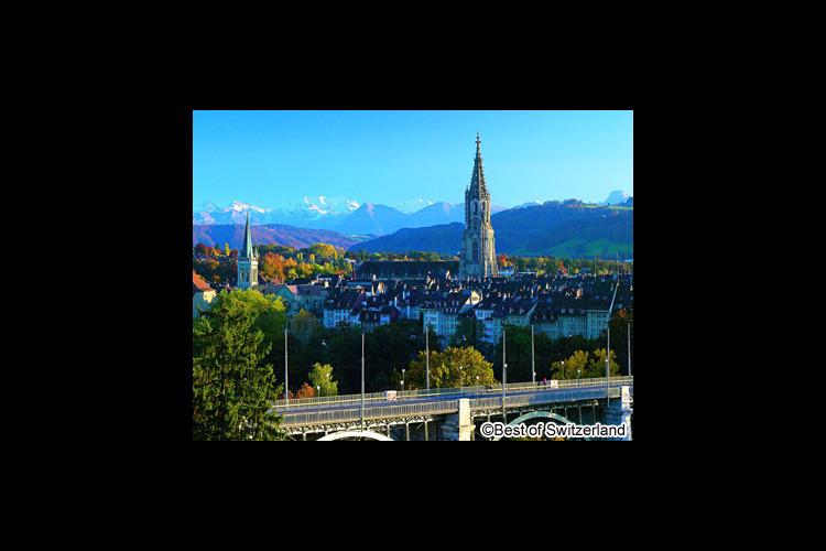 スイスの首都 ベルン1日観光の写真