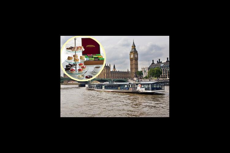 バトー・ロンドン テムズ川アフタヌーンテ...の写真