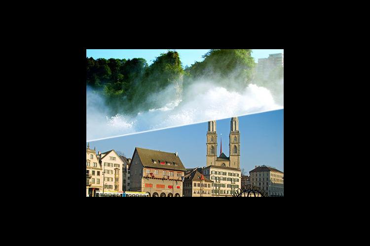 午前ラインの滝観光と午後チューリッヒ市内...の写真