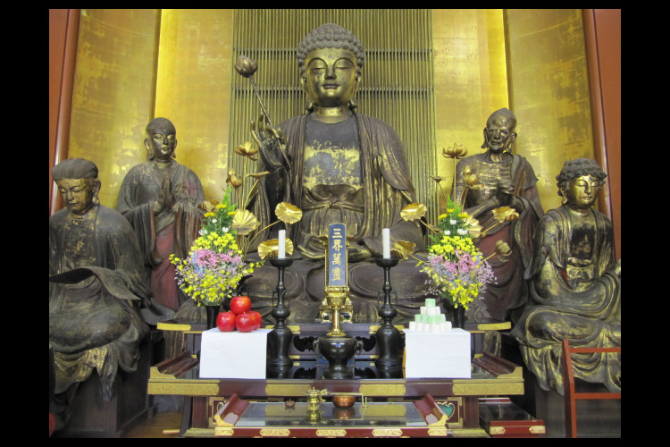 増上寺大広間天井絵公開&五百羅漢寺ご案内...の写真
