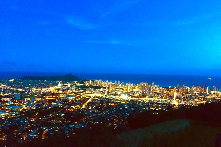 タンタラスの丘夜景ツアー 短めの時間で行...の写真