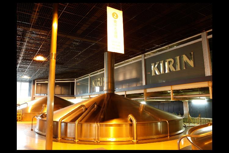 【横浜より乗船】キリンビール横浜工場見学...の写真
