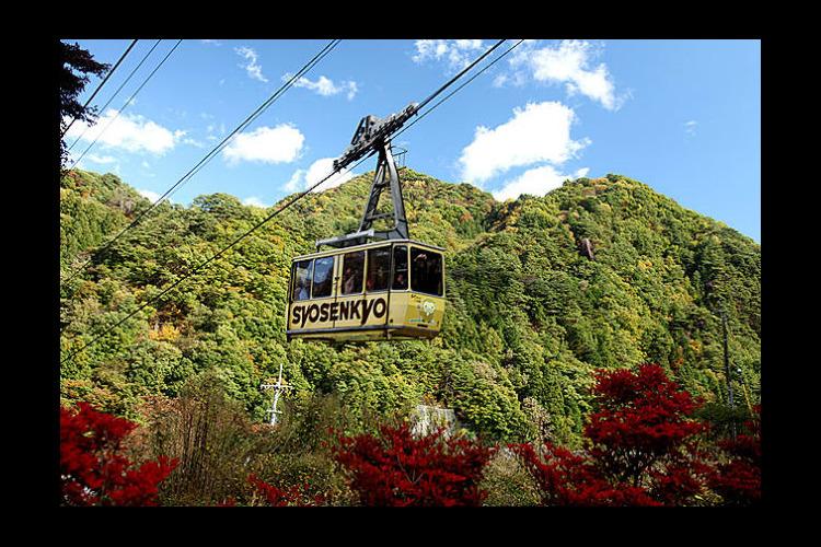 【最大100円割引】昇仙峡ロープウェイ ...の写真