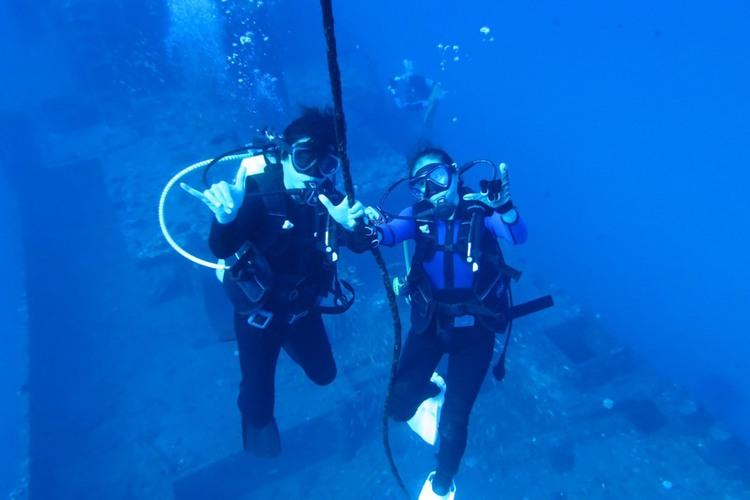 ワイキキ沖ファンダイビング(2ダイブ)の写真
