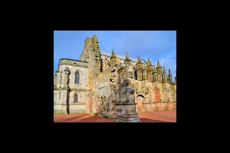 ロスリン礼拝堂とスコティッシュボーダーの写真