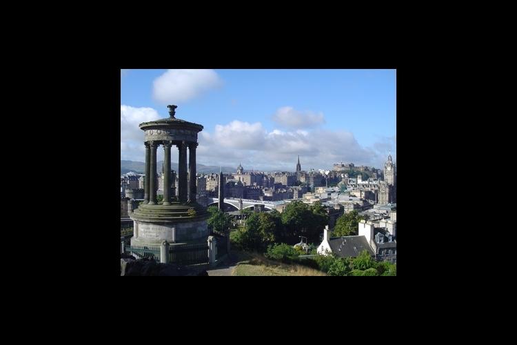 世界遺産の古都エジンバラとスコットランド...の写真