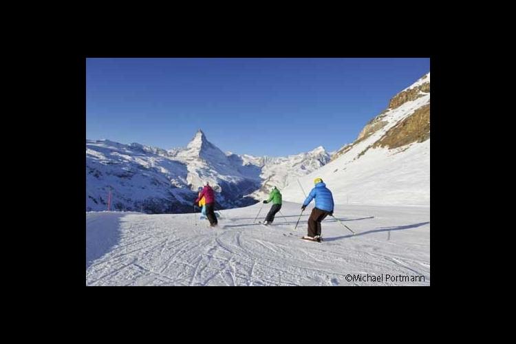 憧れのツェルマットでスキー大満喫!宿泊と...の写真