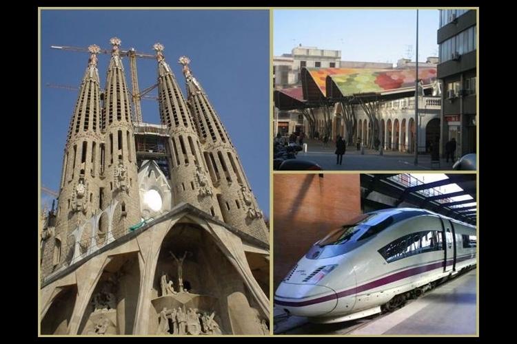 AVEで行く終日バルセロナ ~ サグラダ...の写真