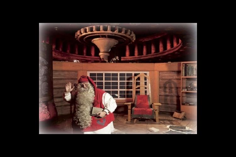 サンタクロース・サファリ ~ スノーモー...の写真