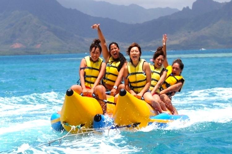 アフタヌーン・サンドバー&バナナボートの写真