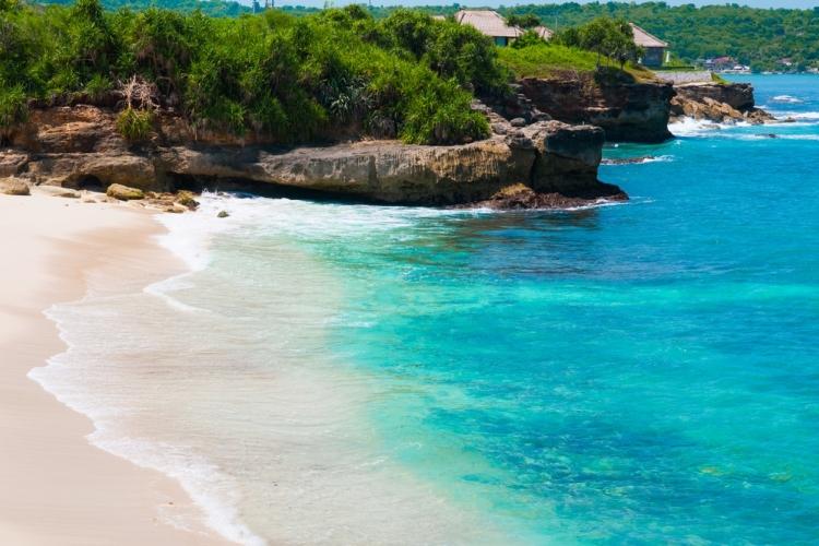 フォトジェニックなレンボンガン島の有名ス...の写真