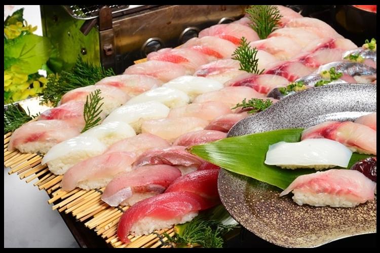 ★横浜・川崎のご自宅発着★地魚寿司 + ...の写真