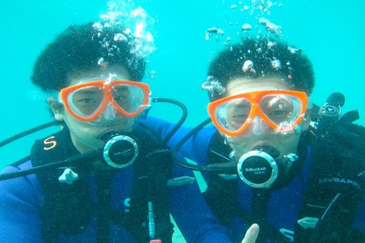 初心者OK!! ハワイの海でPADI ス...の写真