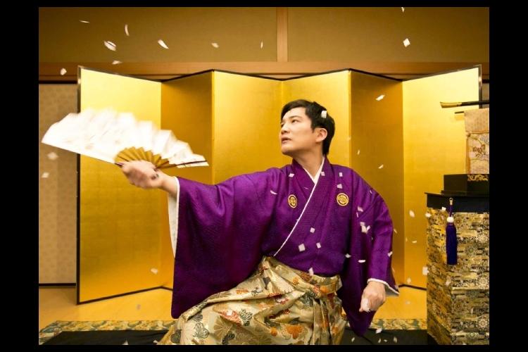 初秋を彩る華やかな和のマジック!江戸時代...の写真