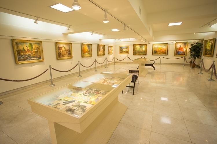 芸術の旅 (楊三郎美術館) 半日観光の写真