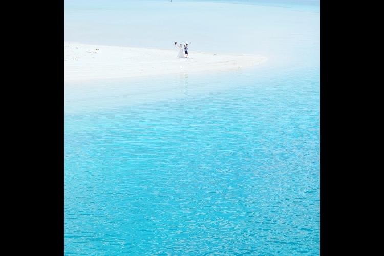 久米島 イーフビーチ・ウエディングフォト...の写真