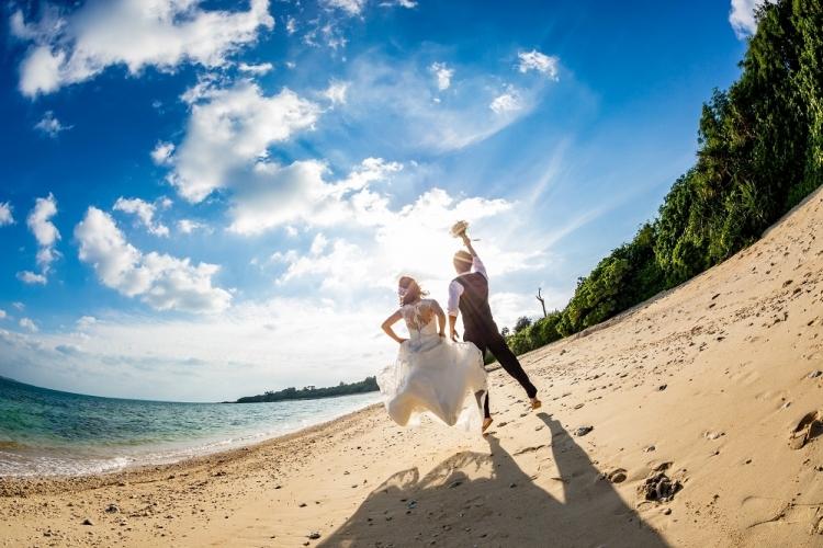 南国の石垣島でフォトウェディング!の写真