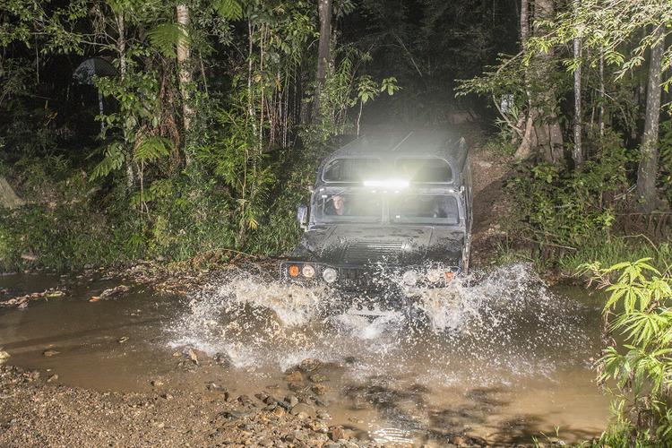 [ケアンズ発着] 熱帯雨林を進む4WDハ...の写真