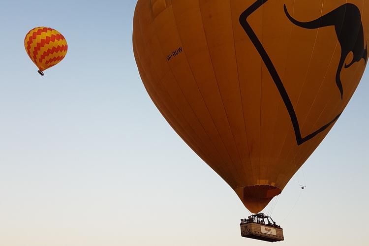 熱気球遊覧飛行ノーザンビーチ発の写真
