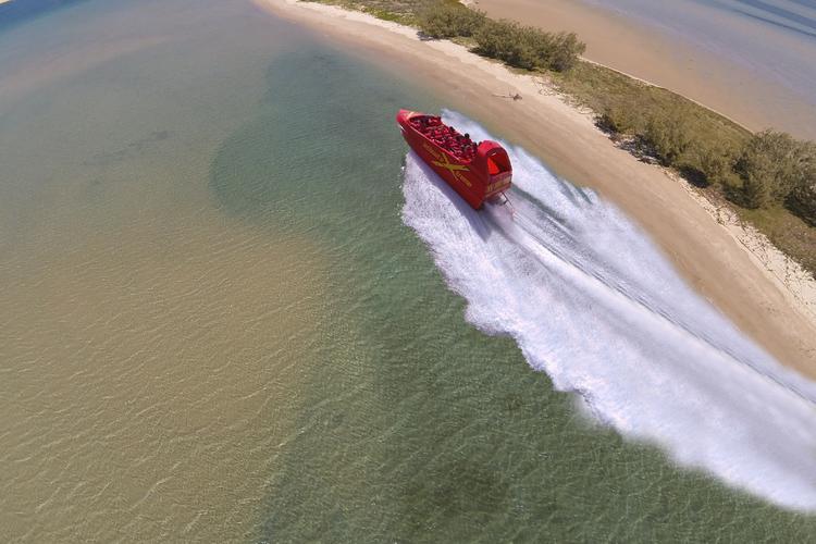 エクストリームジェットボートライドの写真