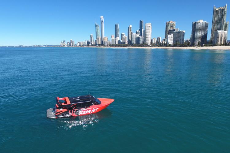 オーシャンジェットボートツアーとヘリコプ...の写真