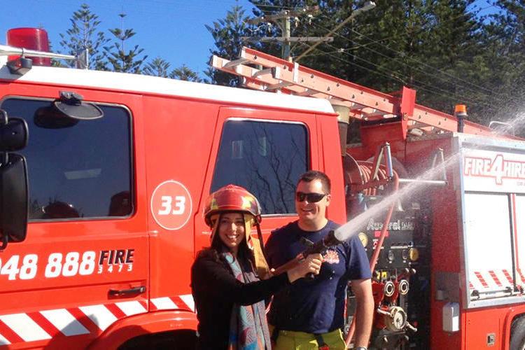 ゴールドコースト 消防車観光ツアーの写真